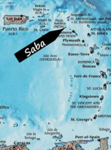 caribbean-map-saba
